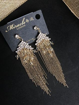 20709190201/775 Gold Earrings