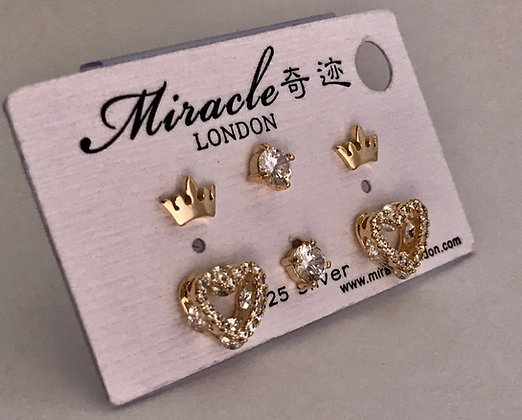 JE17450B/470 Gold Earrings
