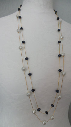 8   GOLD NECKLACE
