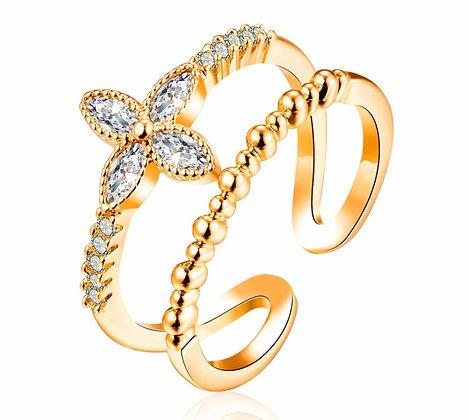 RG10017  ADJUSTABLE GOLD RING