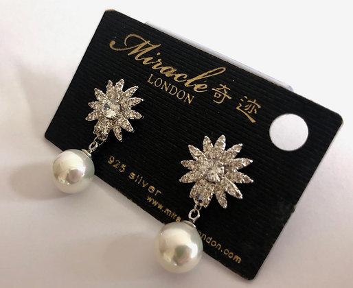 R4837A1Z/450 Silver Earrings