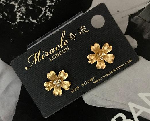20569830201/355 Gold Earrings