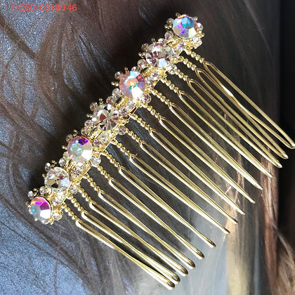 7122010019/146    GOLD HAIR COMB