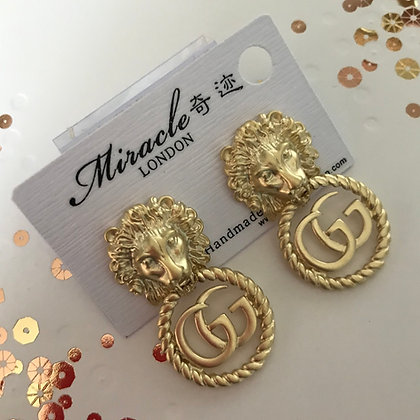 GG. Style Gold with Silver-Pins