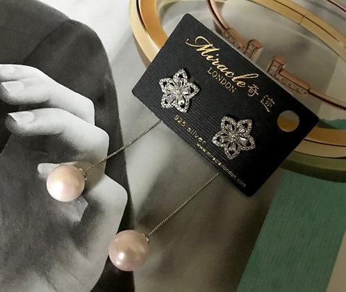 20655100400/595 Silver Earrings