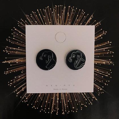 ERWS20007-10   SILVER STUD EARRINGS
