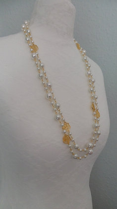 6.  GOLD NECKLACE