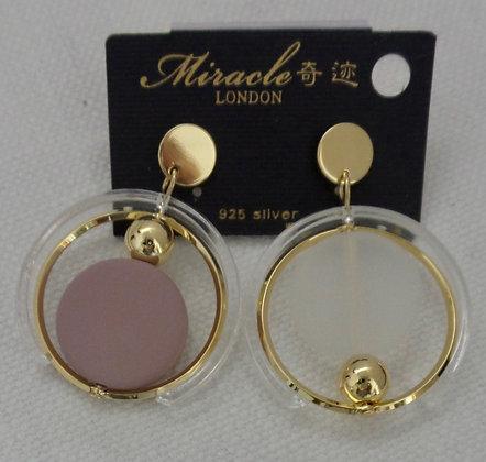 20706520214/00485.GOLD DANGLE EARRINGS