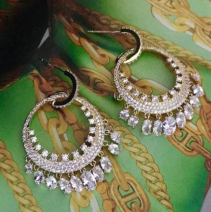 20683760200B/1395 Gold Earrings