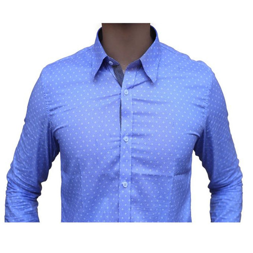 a33799a4376 Amberhill -Printed Shirt - Spread Collar - Slim Fit for Mens