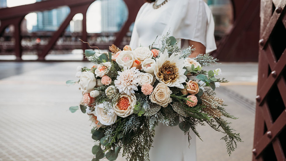 XL bridal bouquet