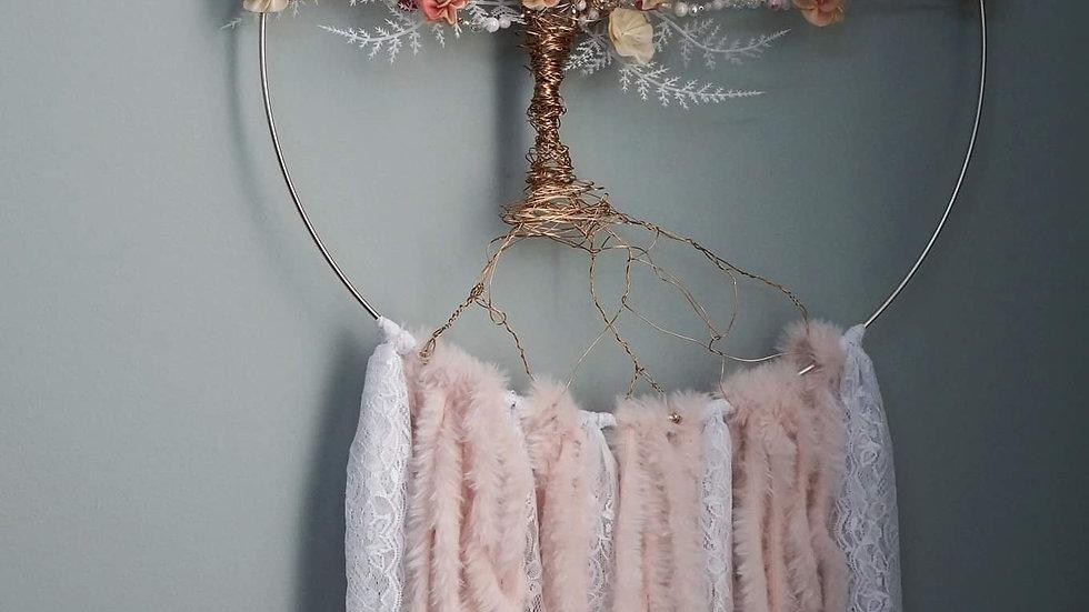Dreaming tree wall hanging
