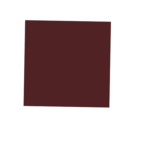 Red-Brown Square on White