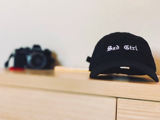 Sad Girl Strong Woman Dad's Hat