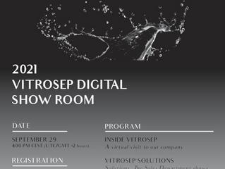 Vitrosep Virtual Show Room Event