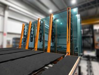 TUROMAS RUBI 406VA - Float Jumbo PLF glass cutting table