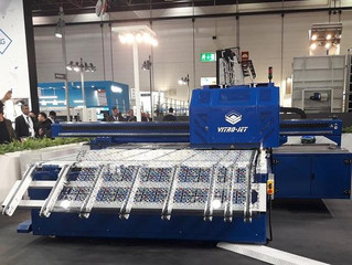 Highly innovative technologies for digital printing on glass showcased at Glasstec