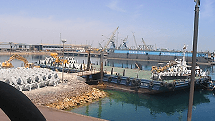 Construction of Halul Harbour Upgrade Ph