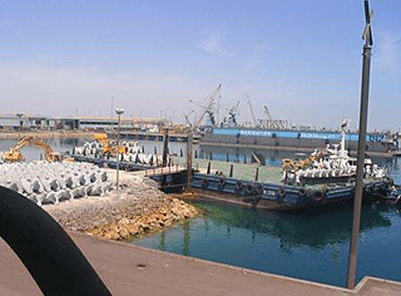Construction of Halul Harbour Upgrade