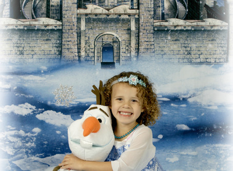 Frozen Fantasy Shoot