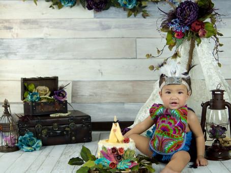 Smash Cake - Boho - Kyra