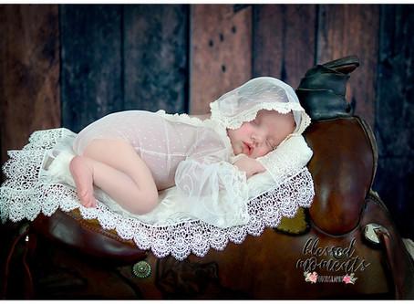 Newborn - Sienna - Little cowgirl