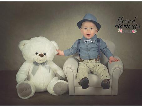 1st birthday and family photos