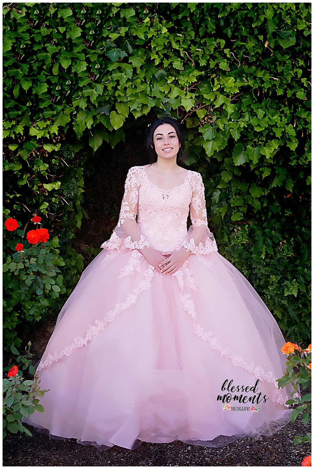 Quinceanera at El Paso Rose Garden