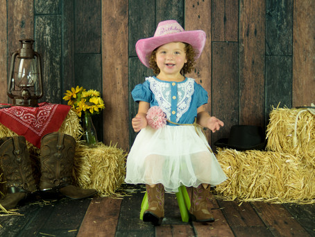 Child Milestone - Cowgirl - Sadie