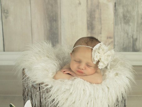 Newborn - Lily - Little flower