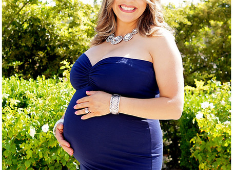 Maternity session for Mercy in El Paso