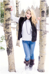 Winter Senior Photo Session
