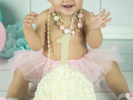 Smash Cake - Reign - Milk bath