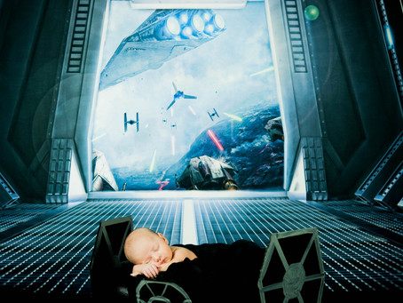 Newborn Session - Ashton - Star Wars