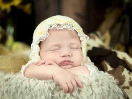 Newborn Session - Sedona - Cowgirl