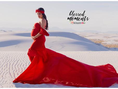 Maternity - Priscilla - Lady in Red