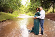 Creek Maternity Photography with Husband020514.j