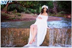 Alamogordo Maternity Photography Creek