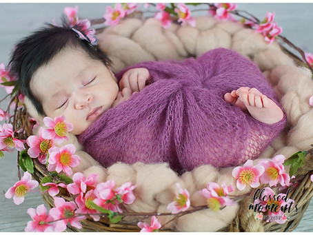 Newborn - Pink and Green