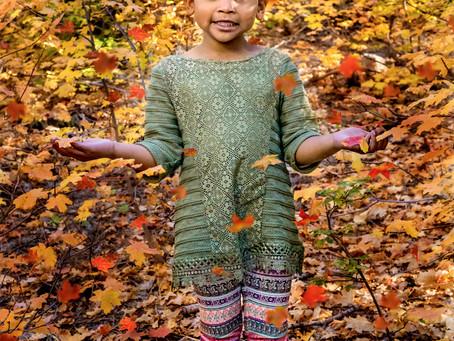 Child Milestone - Fall - Aamiyah
