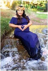 Tularosa Maternity Photography Creek