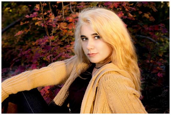 Cloudcroft Fall Senior Photography