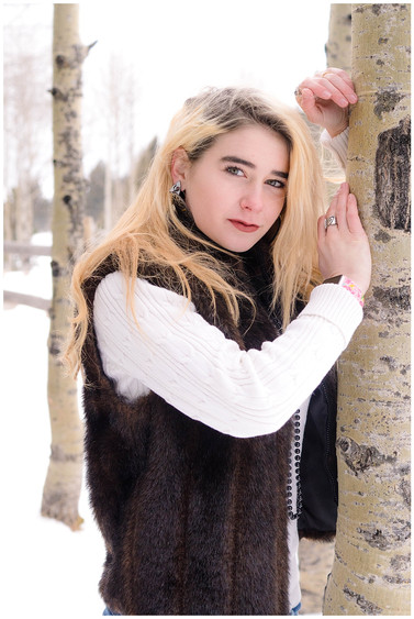 Premire Winter Senior Photos