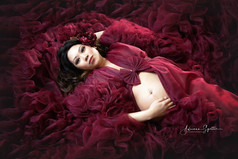 Beautiful Studio Maternity Photos