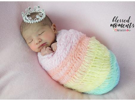 Newborn - Pastel Rainbow Baby