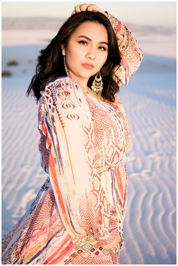 White Sands Senior Photography