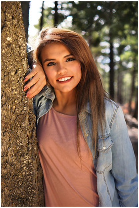 Cloudcroft Summer Senior Photography