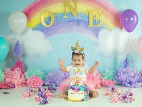 Smash Cake - Rubee - Unicorn