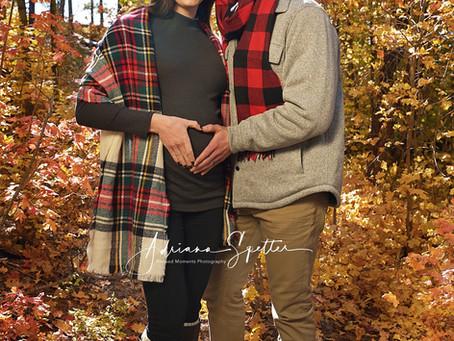 Fall Maternity at Cloudcroft - Breeann