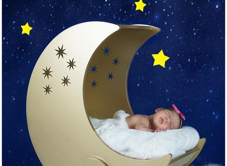 Newborn - Mila - Stars and Moon